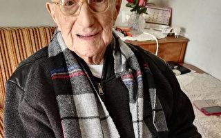 納粹大屠殺倖存 以國阿公世界最長壽男