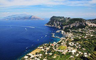 俯瞰意大利阿瑪爾菲海岸半島風光。(Pixabay)