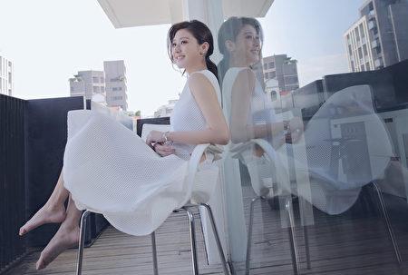 林逸欣近年來擔綱多齣電影、戲劇第一女主角,但她從未忘懷音樂和創作。(喜歡音樂提供)