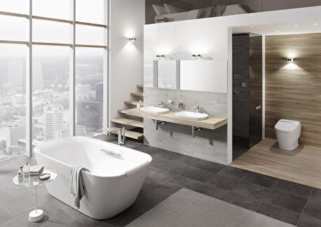 TOTO衛浴是豪宅裝修的首選之一,圖為NEOREST系列。(TOTO提供)