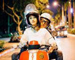吳慷仁、楊丞琳合作演出《滾石愛情故事》,詮釋由莫文蔚演唱《愛情》一曲改編的故事。(愛奇藝台灣站提供)