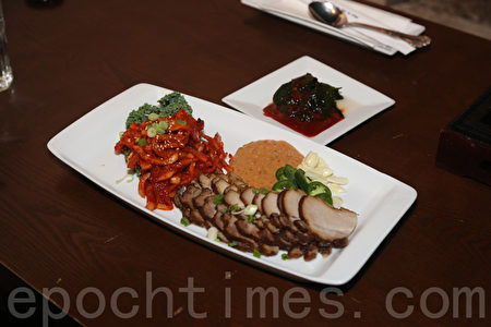 ROKU (EXIT 201)的美味菜肴。(李雯/大纪元)