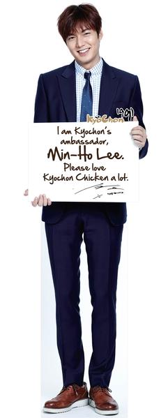 李敏镐将来大马为炸鸡店造势。(图/公关提供)
