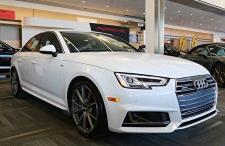 Audi A4获2016欧洲年度风云车第四名(任侨生/大纪元)