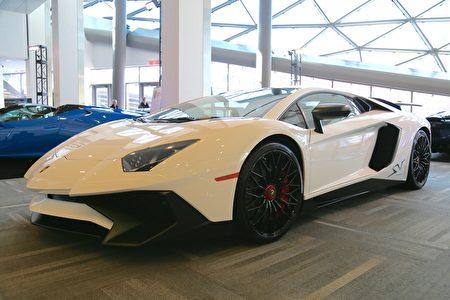 豪华跑车Lamborghini (任侨生/大纪元)