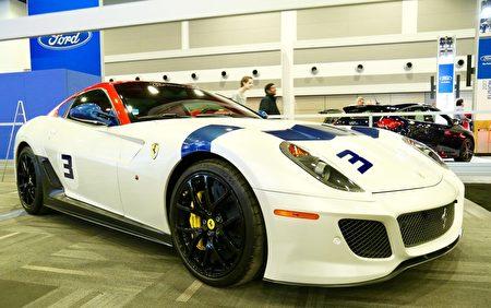 豪华跑车Ferrari。(任侨生/大纪元)