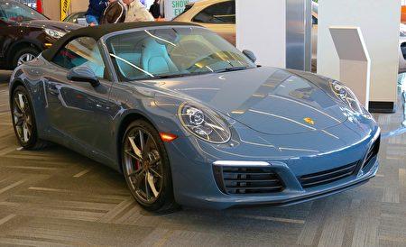 豪华跑车Porsche 911 Cayman S (任侨生/大纪元)
