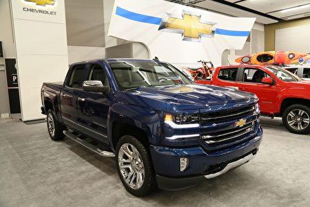 Chevrolet Silverado——年度最佳卡车(BEST NEW PICKUP)(任侨生/大纪元)