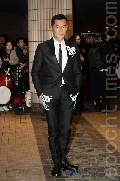 香港國際電影節開幕,出席嘉賓古天樂是開幕嘉賓之一。(宋祥龍/大紀元)