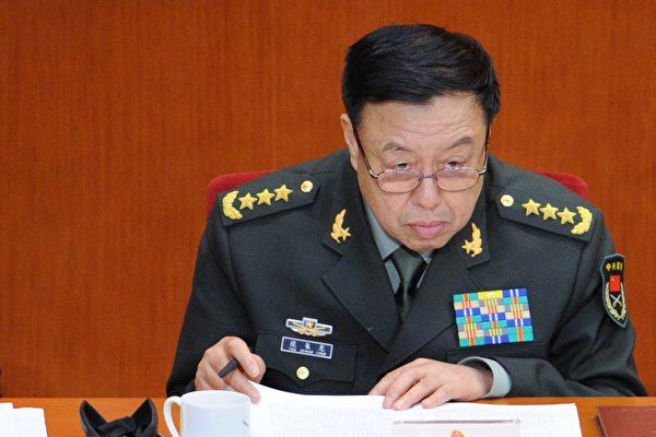 繼房峰輝落馬後,中共軍委前副主席范長龍也傳出被調查的消息。(WANG ZHAO/AFP/Getty Images)