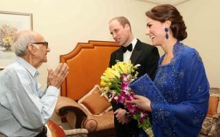 推特助力 印度93歲王室迷和威廉凱特見面