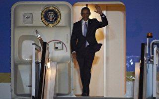 奧巴馬抵英國是訪問 籲英國人支持續留歐盟