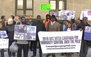 纽约两市民拍警察执法被控罪 民团吁撤案