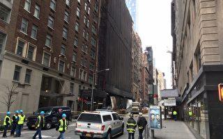 紐約曼哈頓漏水漏氣  商家損失上萬元