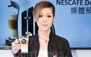 陈珊妮怕人潮多 饮咖啡激发创作