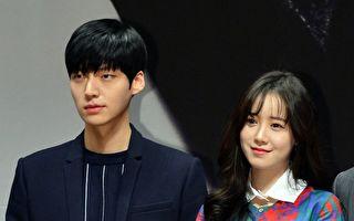 安宰贤(左)、具惠善出席《Blood》发布会资料照。(MBC提供)