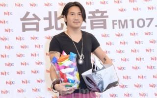 曹格於2016年4月8日在台北出席4月hito大台柱活動。(黃宗茂/大紀元)