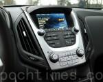 2016 Chevrolet Equinox,Chevrolet MyLink系統及導航系統。(李奧/大紀元)