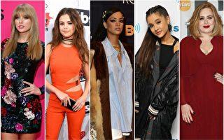 2016告示牌音乐奖 年度最佳女歌手角逐激烈