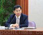 新閣揆林全公布內閣名單,台中市副市長潘文忠即將出任教育部長。(黃玉燕/大紀元)