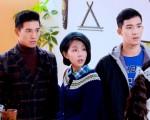《1989一念間》劇照,圖為張立昂(左起)、邵雨薇與楊鎮。(三立提供)