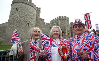 組圖:英國女王90歲大壽 溫莎小鎮總動員慶生