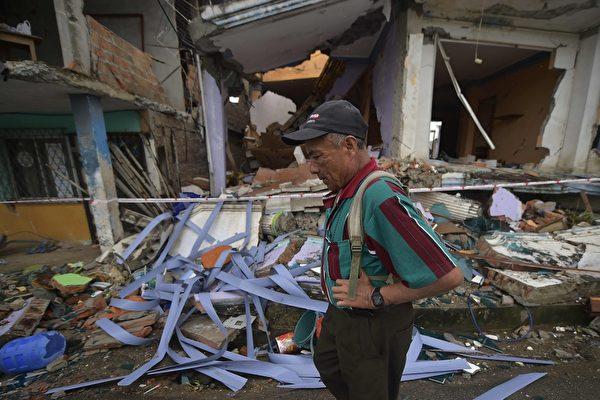 厄瓜多6.1餘震 暫未傳災損