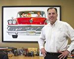Pearson Buick GMC老板Mark。(蒋凯/大纪元)