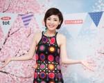 艺人徐小可4月27日在台北出席婴童用品记者会。(陈柏州/大纪元)