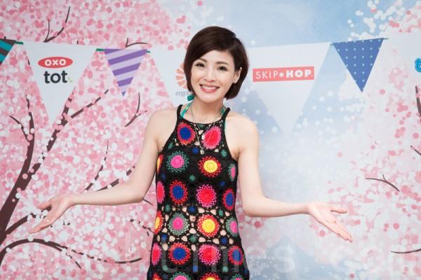 經營媽咪社群網站徐小可擁有53萬粉絲