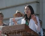 旧金山市议员金贞妍。(大纪元资料图片)