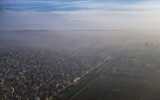 沙塵暴來襲  新德里空氣品質惡化