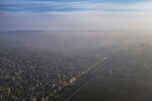 沙尘暴来袭  新德里空气品质恶化