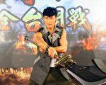 何潤東出席代言手遊記者會,透露近期他忙於拍電影、看電視劇本及籌備婚事。(達騰娛樂提供)
