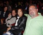 公司老闆Joe Goodell先生4月29日晚於美國紐瓦克新澤西表演藝術中心(New Jersey Performing Arts Center)觀看完神韻巡迴藝術團演出。(良克霖/大紀元)