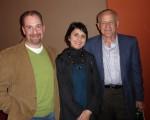 Joe Giusty(右)與朋友Tamara及Carmine Iorio結伴觀神韻,很高興對中國文化有了更深的瞭解。(良克霖/大紀元)