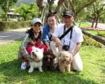 綠博寵物友善日,寵物帶您免費遊綠博。(蘭陽農業發展基金會提供)
