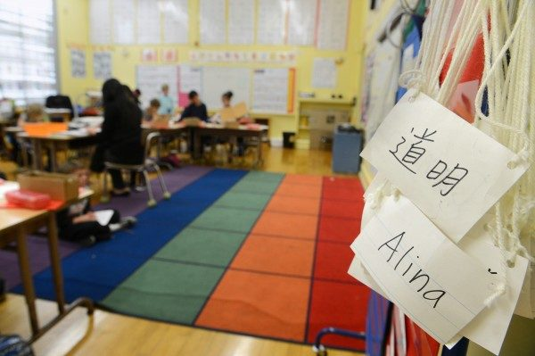 美双语幼儿园及小学抢手 想入学要排队