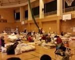 日本熊本大地震已進入第五天,災區的救援工作正在有序進行。(蕭樺/大紀元)