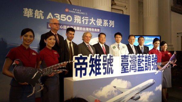 华航A350独步全球彩绘鸟类与命名