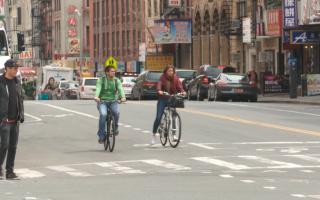 获社区通过 纽约华埠将建更多自行车道