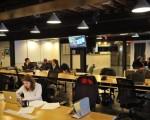 在华盛顿DC的WeWork共享工作区。(MANDEL NGAN/AFP/Getty Images)