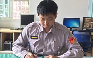 警察開罰單在網路暴紅  因為鋼筆字美