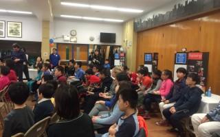 纽约华埠课后班  小学生探讨大议题