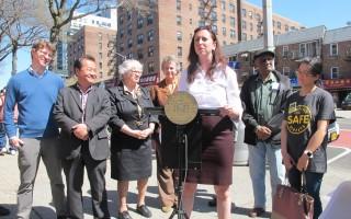 紐約華人社區交通隱患  州眾議員籲整治