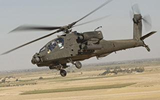 美軍派遣阿帕奇直升機和200士兵打擊IS
