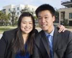 圖:華裔律師本不多,華裔刑事辯護律師更是鳳毛麟角。加州聖地亞哥華裔律師兄妹王緯展(Thomas Wang)和王庭祤(Ariel Chiu)雙雙出道刑事辯護律師,引人注目。(楊婕/大紀元)