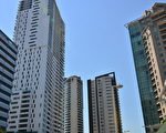 澳洲房地产正在源源不断地吸引来自中国的资金,中国去年超越美国成为澳洲最大的境外投资者。图为悉尼公寓大楼。(简玬/大纪元)