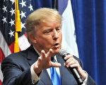 美国共和党总统参选人川普近日接受采访时表示,政治上的事,不可理喻。 (Steve Pope/Getty Image)