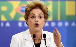 面临弹劾 巴西总统罗塞芙指副总统策划政变